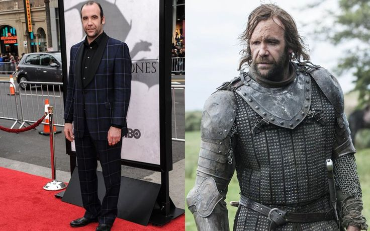 ... advert for Scott's Porridge Oats. McCann plays Sandor Clegane, bo