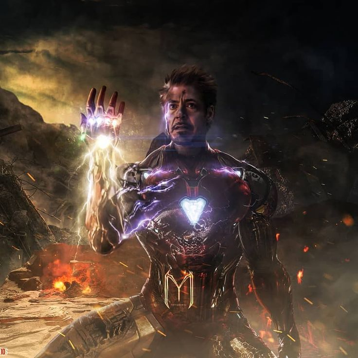 "Iron Man —-""Tony Stark""Avengers Endgame LikeFollowA comment@marvel_stud10s_@ul…"