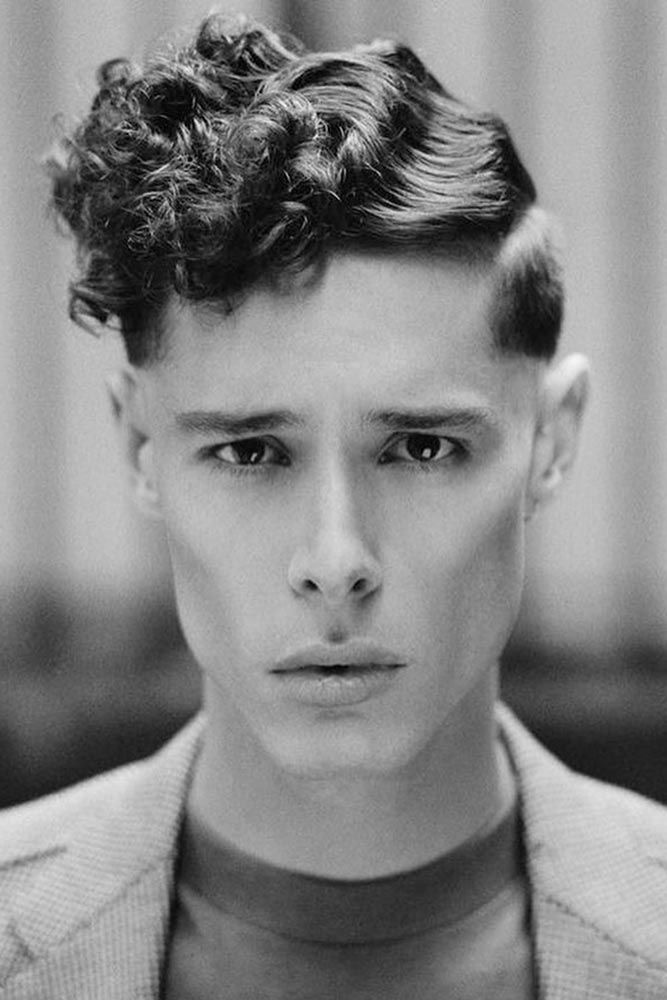 How To Get And Style Curly Hair Men Like To Sport Edgy Haircuts