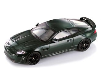 This Jaguar XKR S (2010) Diecast Model Car is British Racing Green and features working wheels. It is made by IXO and is 1:43 scale (approx. 10cm / 3.9in long).  ...