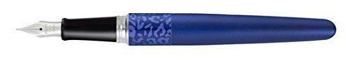 Pilot MR Animal Collection Fountain Pen Matte Plum with Leopard Accent Fine Nib Black Ink (91138)