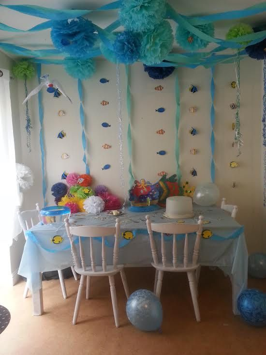 Items Similar To Wedding Party Baby Shower Hanging Decorations 5 Tissue  Paper Pom Poms On Etsy