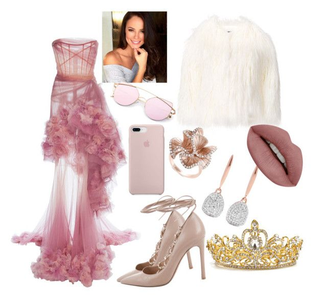 """""""Prom Queen"""" by madisonb902 ❤ liked on Polyvore featuring Marchesa, La Seine & Moi, Valentino, Effy Jewelry and Monica Vinader"""