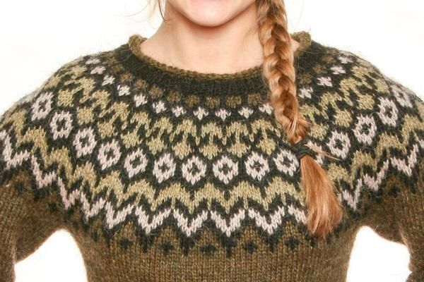 Riddari - Icelandic Sweater - Green