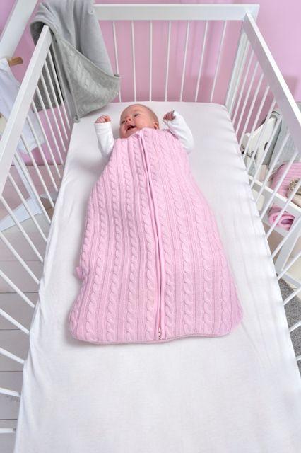 Cable sleeping bag by Jollein | Babyuitzetonline.nl