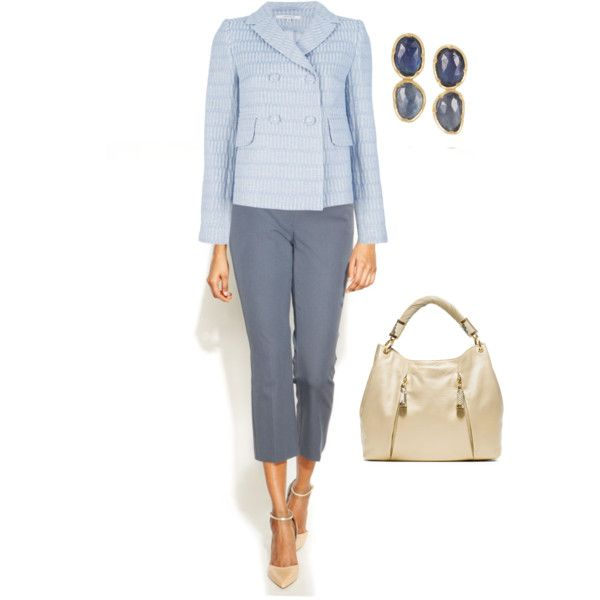 Work Outfit by lmspowellhr on Polyvore featuring Carven, Alfani, Michael Kors and BROOKE GREGSON