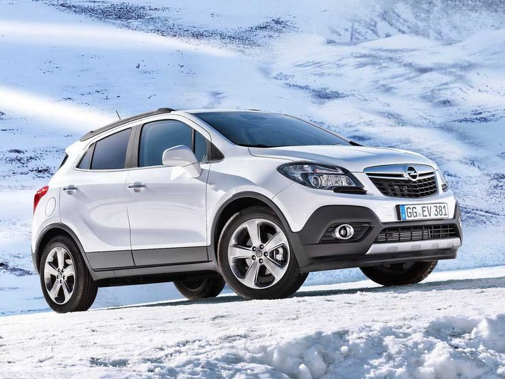 2013 Opel Mokka Front Model - http://car-logos.com/2013-opel-mokka-front-model
