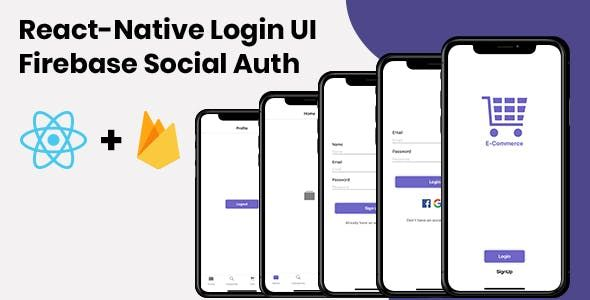 React-Native Login UI   Firebase Social Auth provides you simpler