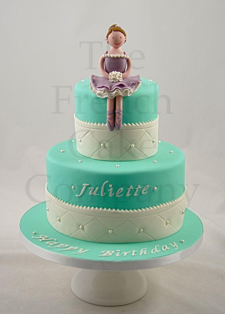 Cakes For Girls Ballerina - Gateau D'anniversaire Pour Enfants Filles - Verjaardagstaart