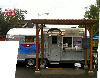 It's a Norwegian foodtruck in Portland! They have lefse and meatballs and lingonberry!