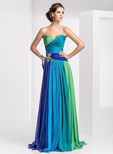Vestiti da sposa blu online
