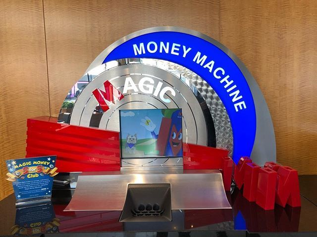 Dont let anybody tell you theres no such thing as a magic money machine ..... @metrobank_official