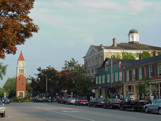 Niagara on the lake. A wonderful little city in Canada.