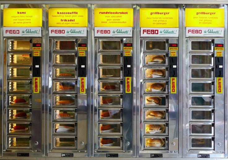 This isn't my healthiest moment but when you're in #Amsterdam, you need to throw 1.50 Euro into the machine and get a Bami at #Febo || http://www.rtwgirl.com/dutch-snacks-munchies-amsterdam/