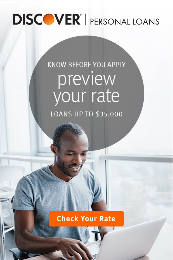 See Your Personal Loan Rate Now Before You Apply Get Your Interest Rate On A Discover Personal Loan Th Personal Loans Ikea Storage Mccalls Sewing Patterns