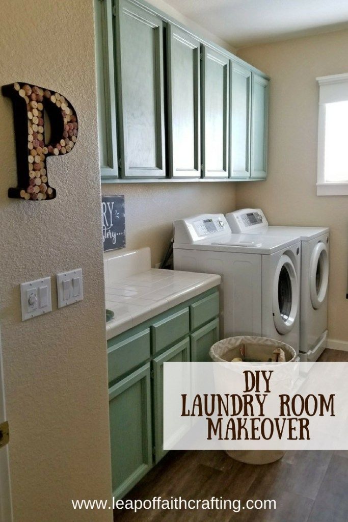 Farmhouse Laundry Room Makeover On A Budget Laundry Room
