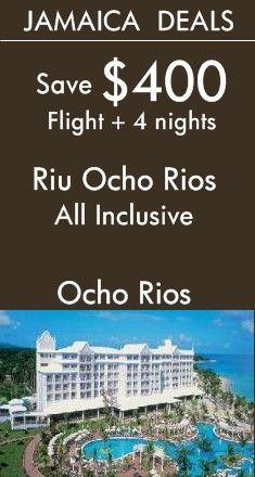 Jamaica - Ocho Rios: Riu Ocho Rios All Inclusive Resort | Discover the Tropical Beach Oasis | View More Jamaica All Inclusive Deals!