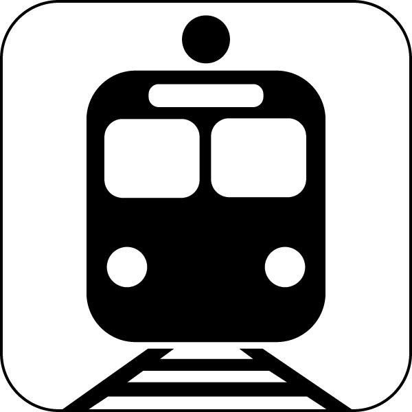 Image result for by train logo