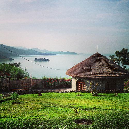 hobbit evi, Inzu Eco Lodge, Gisenyi,Rwanda