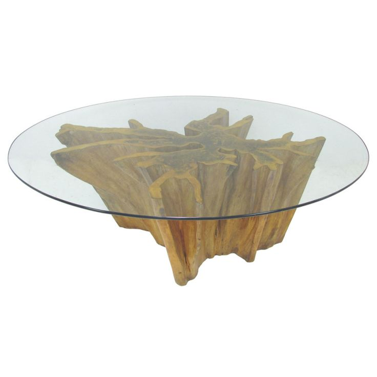 Michael Taylor Cyprus Tree Trunk Dining Table