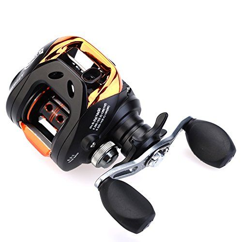 Cisno 11BB 6.3:1 10+1BB Ball Bearings Right Hand Bait Casting Fishing Reel Bait Casting Reels Outdoor Store [gallery]  Best possible tool for fishing  Ergonomic round deal with with drilled holes  CNC machine cut aluminum spool and double brass ratch  High-tensile gear, precision and low noise  Fully adjustable cast keep watch over with magnetic brake system  Very good line lay oscillation system and unspaced anti-reverse system  Removable quick free up side…