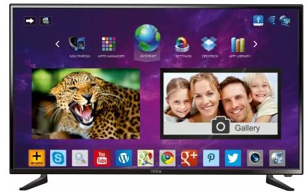 #Onida 105.66cm (42) Full HD LED Smart #TV  (42FIE) At Rs.29999 Only On http://bit.ly/2ifa9LQ
