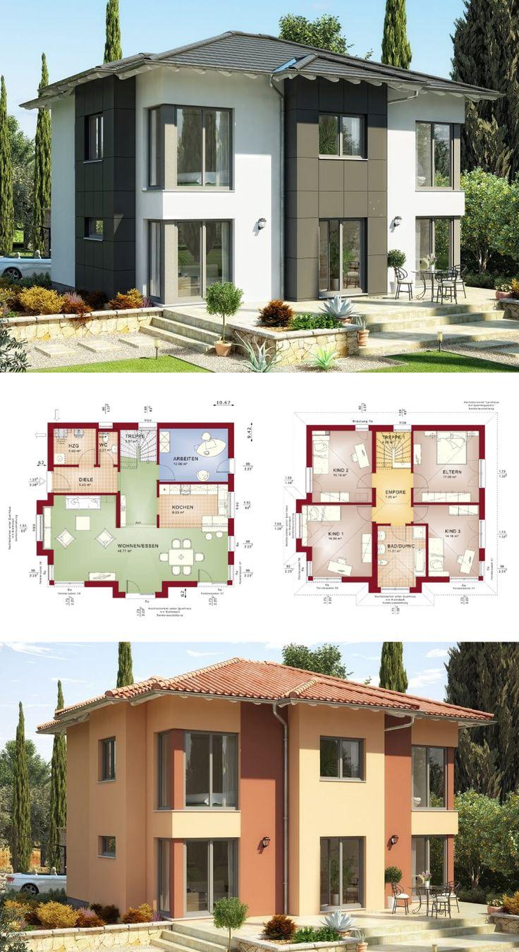 Fassade einfamilienhaus walmdach  Die besten 20+ Walmdach Ideen auf Pinterest | Garagentore ...