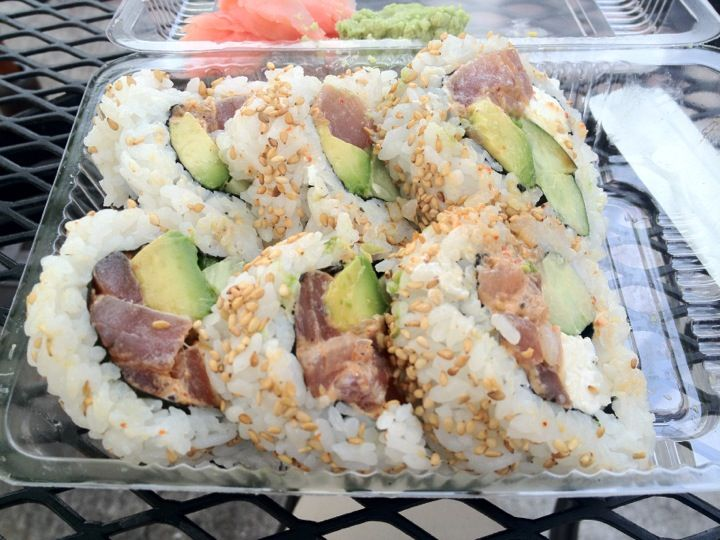 Hayashi's You Make The Roll Sushi Take Out in Kailua, HI