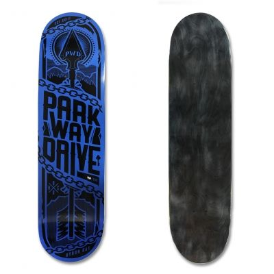Get this LIMITED EDITION Parkway Drive skateboard deck here!