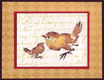 Local King Rubber Stamp - Chicks