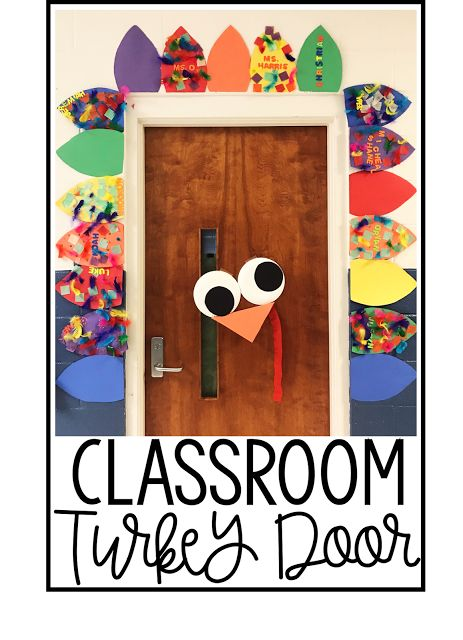 Turkey Classroom Door | Teaching Special Thinkers