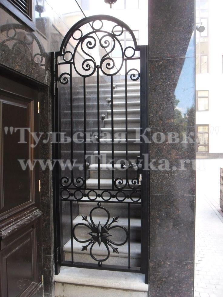 Кованая калитка (Wrought iron gate)