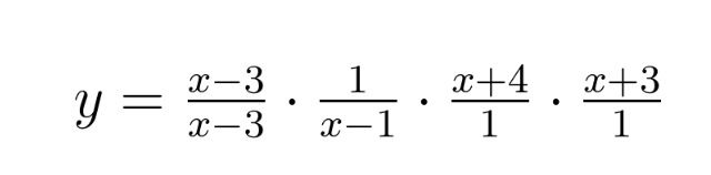 How Sam Shah introduces rational functions - I want kids to build up rational functions, instead of breaking them down. I want them to see how they are constructed term by term by term. Kids need to understand what the first term is doing -- that for any value other than 3, the fraction will evaluate to be 1 (thus it will not affect the rest of the multiplication), but when is 3, we clearly get something undefined and so on. Packet of questions to introduce this.