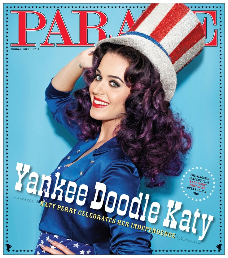 Katy Perry - Parade - July 2012