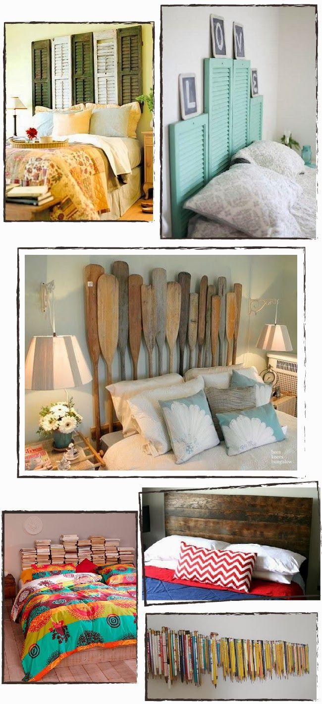 Atreva-se a DIY: Inspiração: redecorar ou Cabeceira DIY UMA Seu Quarto