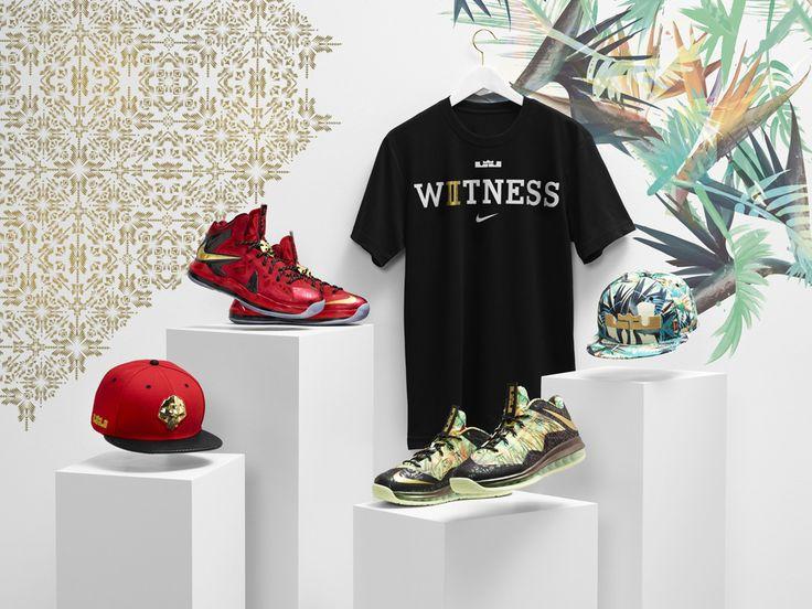 LeBron James Championship Pack: Nike LeBron X PS Elite, LeBron X Low, Caps & T-Shirt