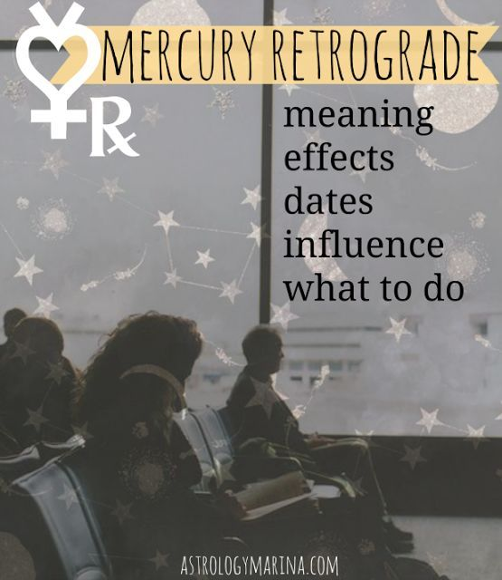 What is Mercury Retrograde? When Mercury goes into retrograde, it moves backwards in terms of zodiacal degrees, as seen from the earth. Mercury does not actually move backwards on its orbit, though -