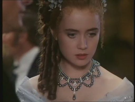 """PERIOD ROMANCE/FILM - LYSETTE ANTHONY as MISTRAL in """"A Ghost in Monte Carlo."""""""