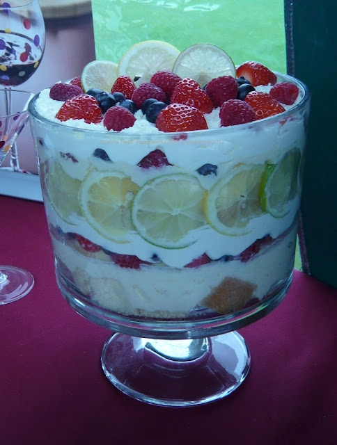 Citrus Berry Trifle in a Pampered Chef Trifle Bowl This looks delicious! http://new.pamperedchef.com/pws/dawncuisine https://www.facebook.com/DawnCuisine
