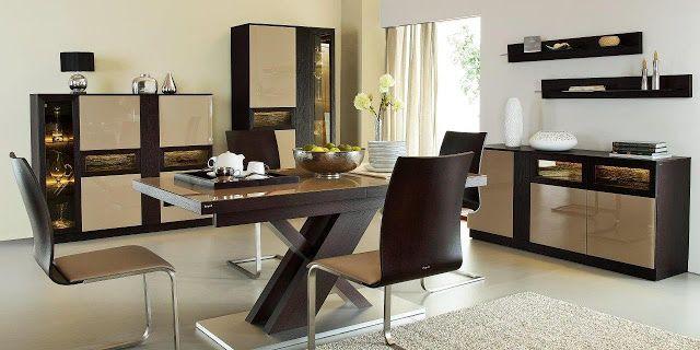 Oficjalny blog Twojemeble.pl: New York firmy Paged, czyli efektowne, drewniane meble do salonu i jadalni!