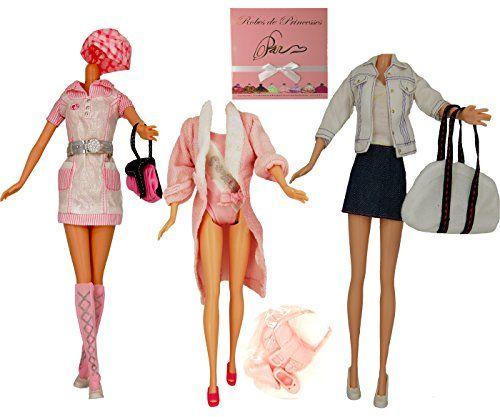 Lot de Vêtements «LINE» pour poupée Barbie, Disney et autres poupées mannequins «Série Limitée»: Vêtements moderne pour poupée Barbie…