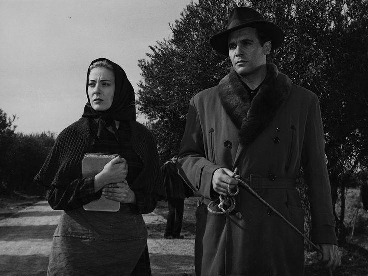Francisco Rabal y Silvia Pinal (Viridiana 1961) Luis Buñuel. Foto Films 59-UNINCI-Producciones Alatriste.