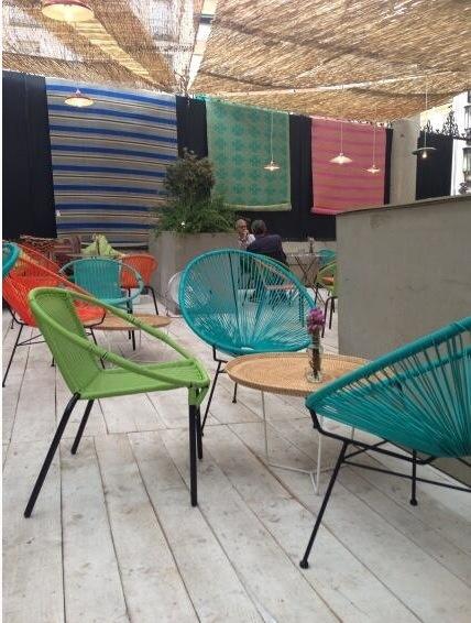 the patio...maison du monde