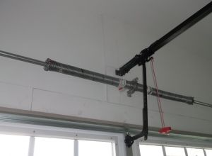 If you have a broken garage door spring it's best to hire a pro to fix it.   http://rsgaragedoorservices.com/broken-garage-door-springs-dont-fix-hire-pro