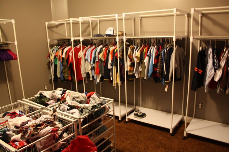 201 best images about family closet on pinterest closet for Large family laundry