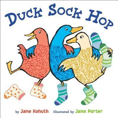 Ducks dance their socks off at their weekly sock-hop.