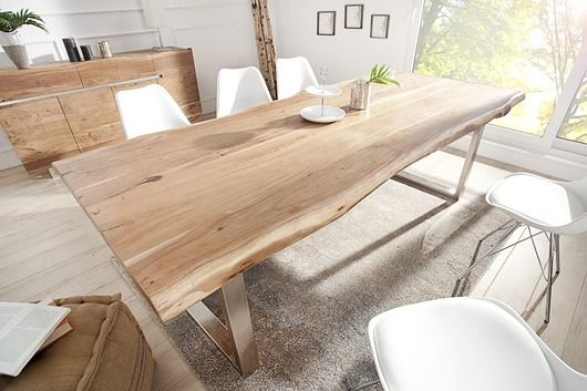 furniture - tables and coffee tables-Stół jadalniany Mammoth akacja 300cm