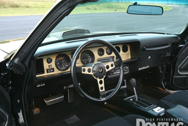 Picture Of 1977 Pontiac Trans Am Black Gold Smokey And The