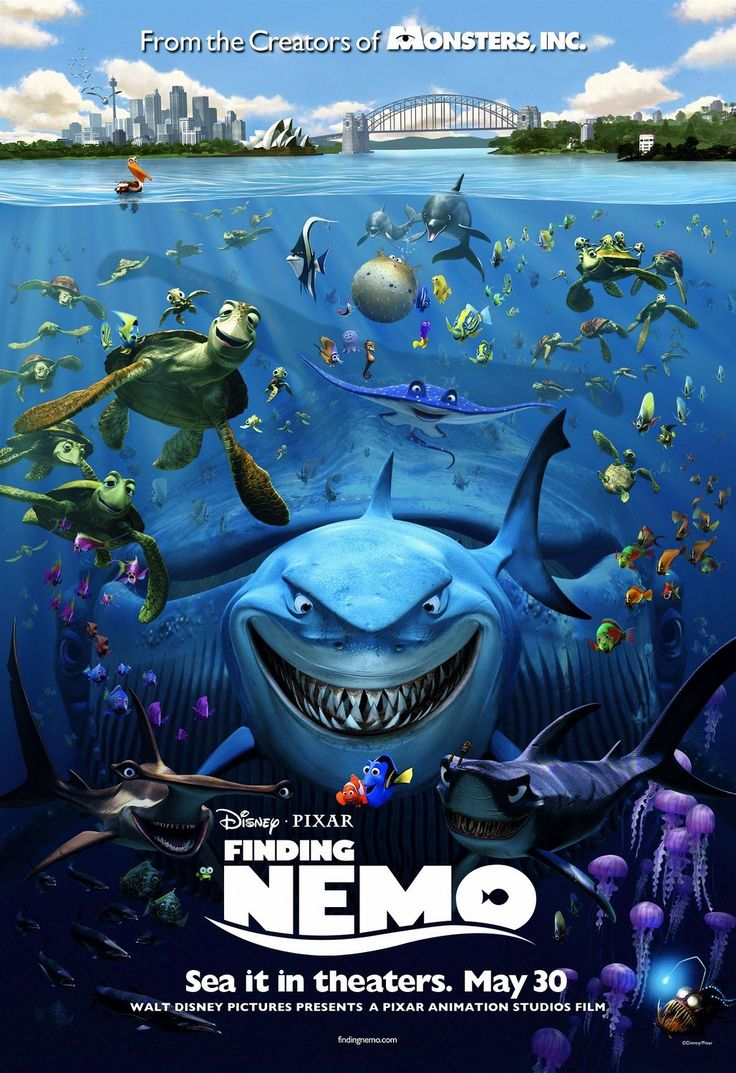 """Finding Nemo"" > 2003 > Directed by: Andrew Stanton & Lee Unkrich > Animation / Adventure / Comedy / Children's Family / Family-Oriented Adventure / Adventure Comedy"