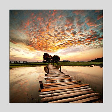 Oil+Paintings+Modern+Landscape++Canvas+Material+With+Wooden+Stretcher+Ready+To+Hang+Size+70*70CM+–+USD+$+49.49